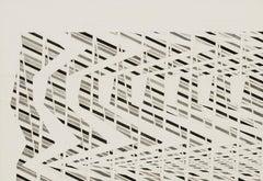 Banner Design (No. 41) - John Plumb (20th Century, Geometric Abstraction)