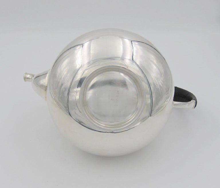 John Prip Midcentury Dimension Coffee Pot for Reed & Barton For Sale 1