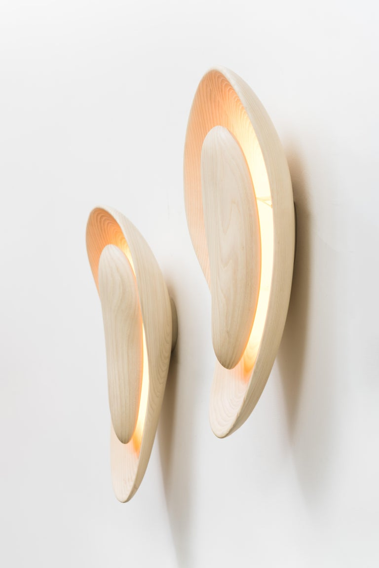 John Procario, Basin Series Wall Sconce Pair, USA For Sale 6