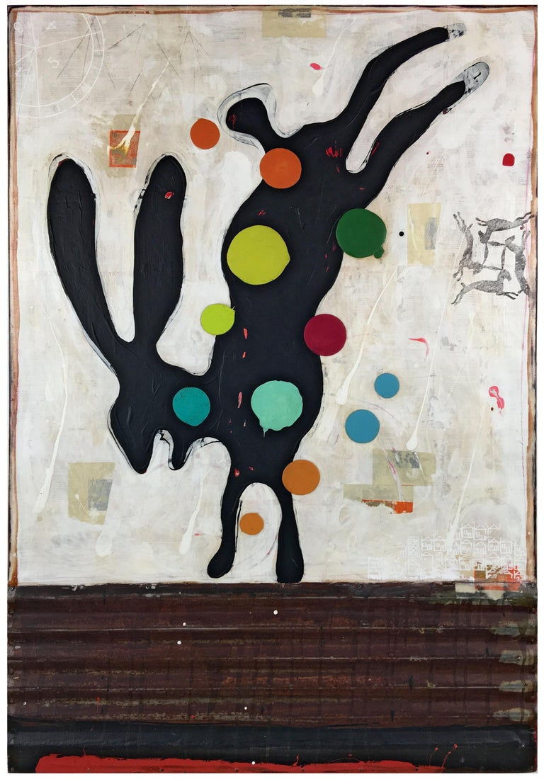John Randall Nelson Abstract Painting - For Real