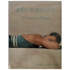 John Rawlings 30 Years in Vogue First Edition Book