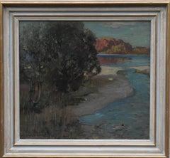Loch Lomond - Scottish Impressionist Glasgow Boys oil painting