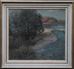 Loch Lomond - Scottish Impressionist art Glasgow Boys landscape oil painting