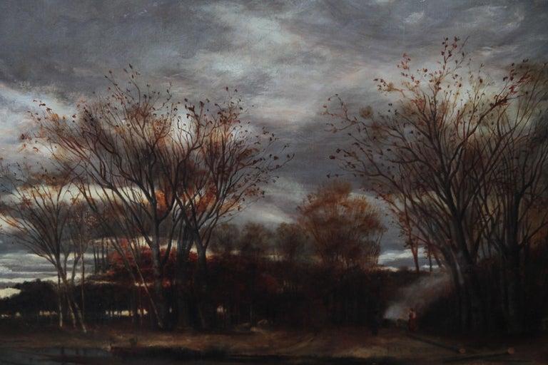 Sunset after Rain - Scottish 19th Century art Glasgow Boy landscape oil painting For Sale 4