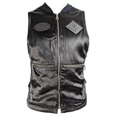 John Richmond Destroy Vintage Mens Gilet Fashion Vest