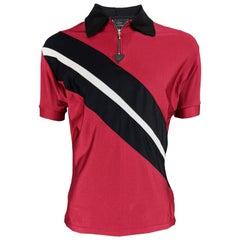 John Richmond Destroy Vintage Mens Jersey Polo Shirt