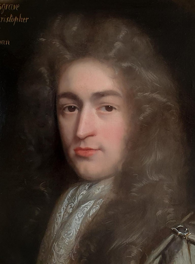 Portrait of Christopher Musgrave (1664-1718) circa 1690 2