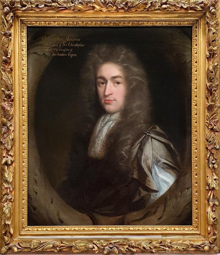 John Riley Portrait Painting - Portrait of Christopher Musgrave (1664-1718) circa 1690