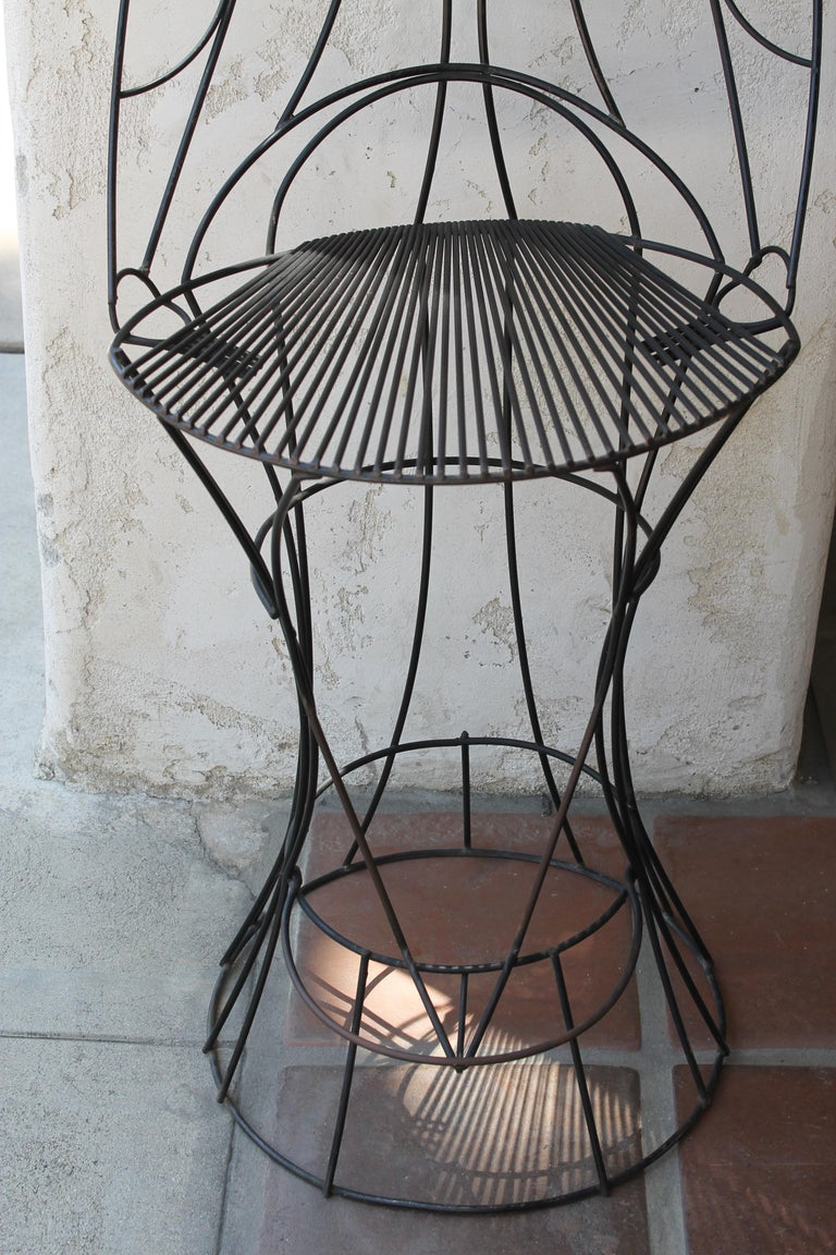 John Risley Barstool In Good Condition For Sale In Palm Springs, CA