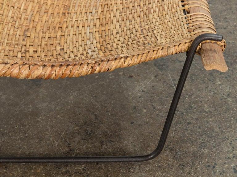 John Risley Duyan Rattan Lounge Chair For Sale 4