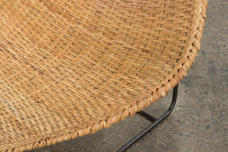 John Risley Duyan Rattan Lounge Chair For Sale 1