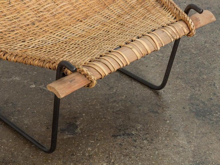 John Risley Duyan Rattan Lounge Chair For Sale 2