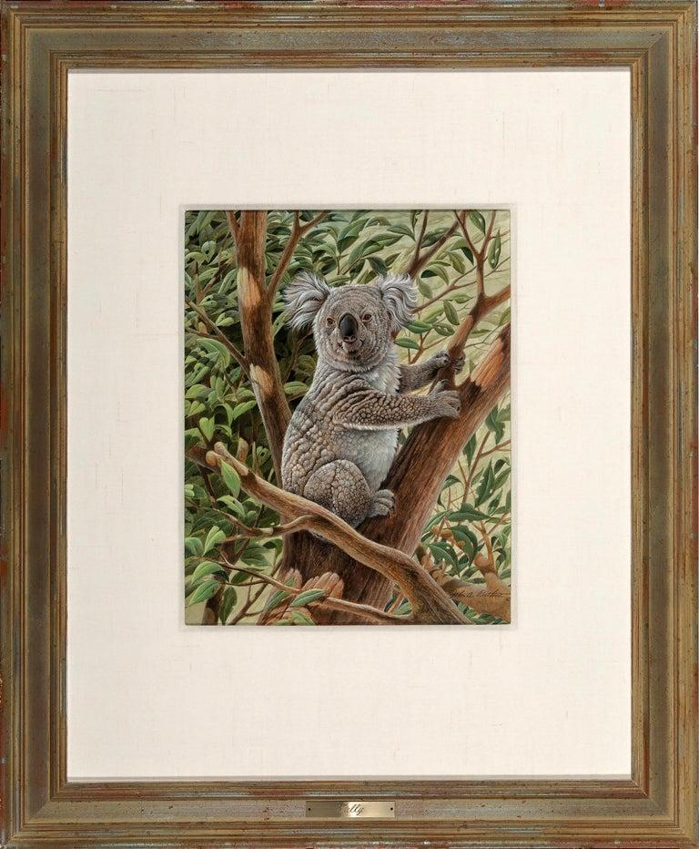 Cute Koala Bear Australia,  Photorealism  - Art by John Ruthven