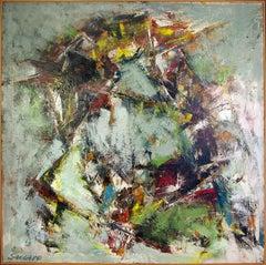 Sensory Raid (colorful, abstract painting)