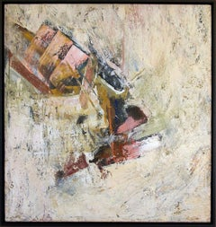 Untitled  (multi-colored abstract expressionist painting)