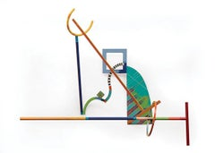 """""""Jazz on a T-"""" Abstract Kinetic Sculpture"""