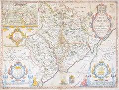 John Speede Map The Countye of Monmouth
