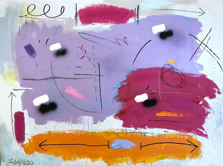 John Stango Abstract Painting - Typical Abstract
