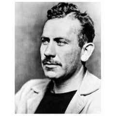 John Steinbeck Authentic Vintage Strand of Hair, 20th Century