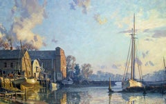 Greenwich , The Lower Landing, Cos Cob, 1895