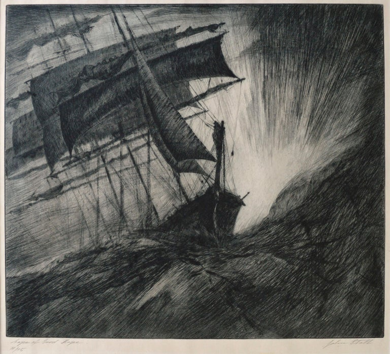 Cape of Good Hope - Print by John Stoll