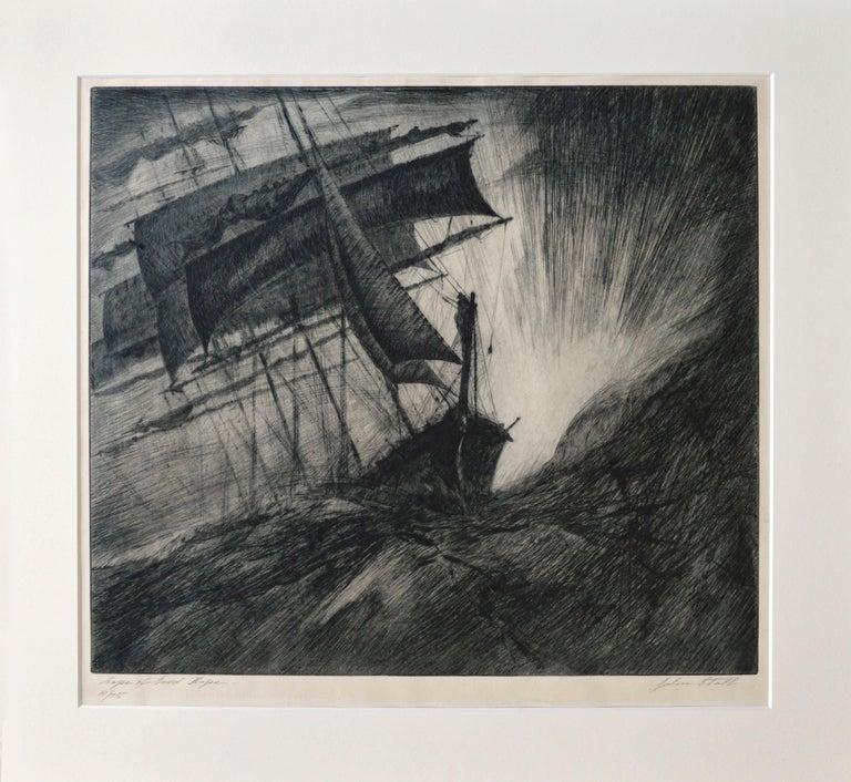 John Stoll Landscape Print - Cape of Good Hope