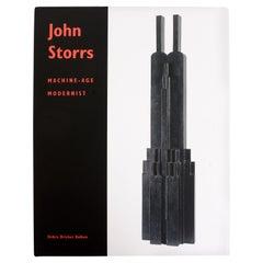 John Storrs Machine-Age Modernist by Debra Bricker Balken, 1st Ed
