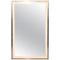 John Stuart Chrome Frame Mirror