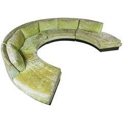 John Stuart Circular Sectional Sofa