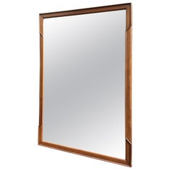 John Stuart Janus Collection Walnut Mirror