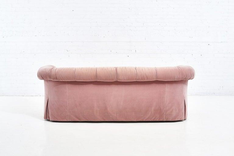 Late 20th Century John Stuart Pink Sofa, 1988 For Sale