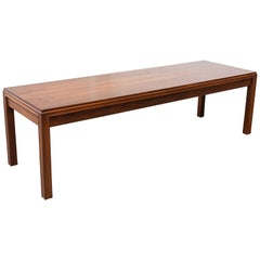 "John Stuart Stamped Rosewood ""3842"" Coffee Table"