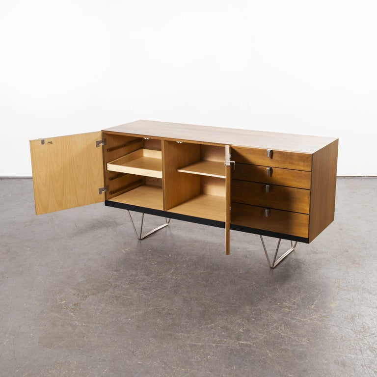 Wood John & Sylia Reid S201 Sideboard, Reissue by Nathan Furniture, Prototype For Sale