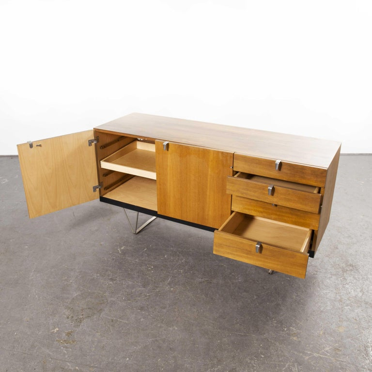 John & Sylia Reid S201 Sideboard, Reissue by Nathan Furniture, Prototype For Sale 1