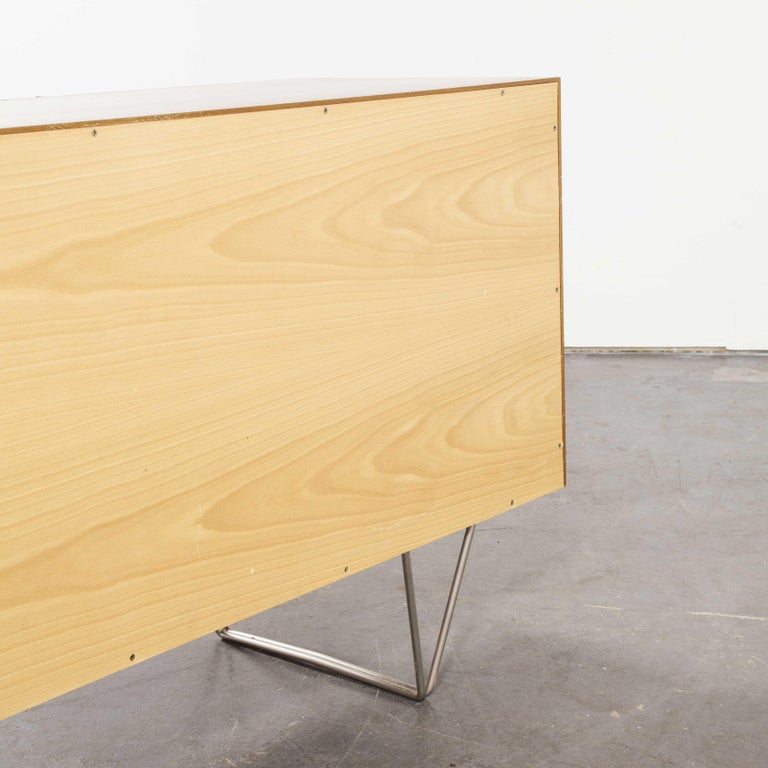 John & Sylia Reid S201 Sideboard, Reissue by Nathan Furniture, Prototype For Sale 3