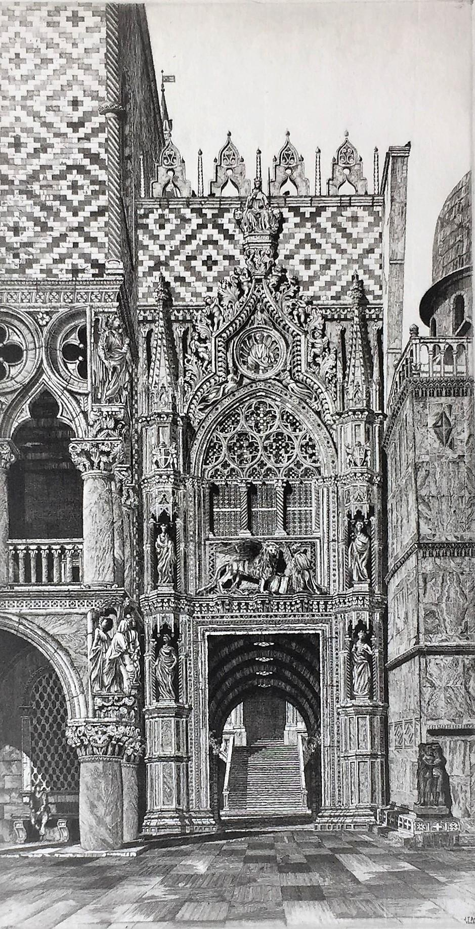 Enchanted Doorway,Venezia (La Porta della Carta, Venezia '29)