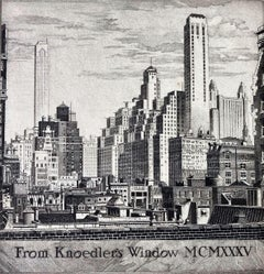 From Knoedler's Window MCMXXXV