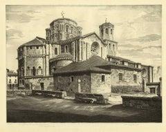 La Colegiata Toro (Romanesque Santa Maria la Mayor/Zamora province Spain)