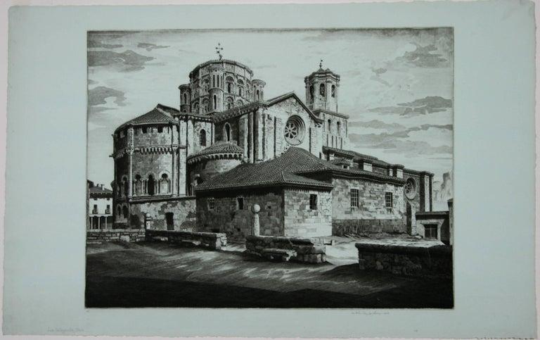 La Colegiata, Toro [Spain] - Print by John Taylor Arms