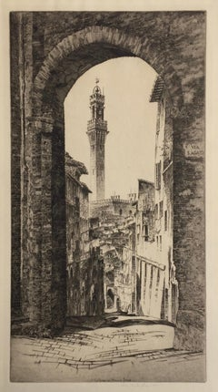 La Torre Del Mangia, Siena