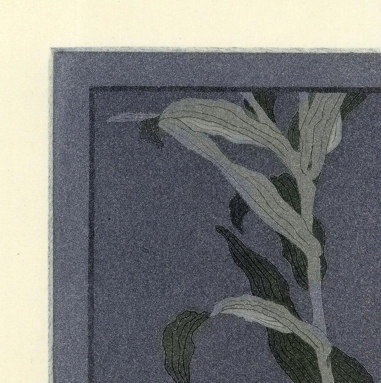 Lily - Gray Still-Life Print by John Taylor Arms