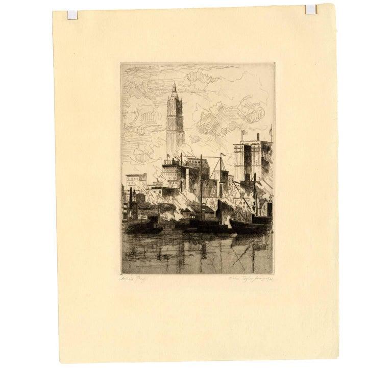 New York Skyline - Print by John Taylor Arms