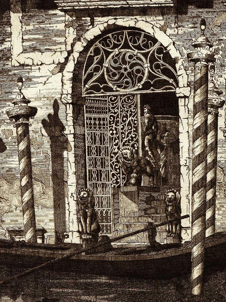 Palazzo dell' Angelo, Venice Italy (#19 Italian Series) - Print by John Taylor Arms