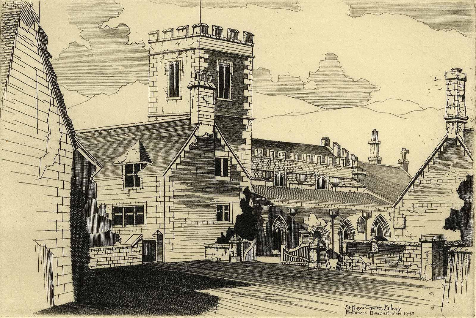 St. Mary's Church in Bibury, England