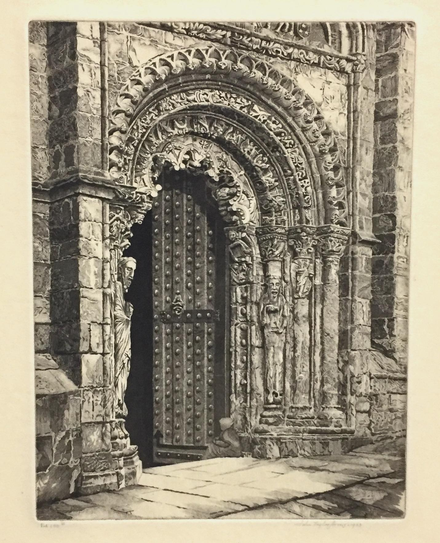 Study in Stone, Cathedral of Ourense