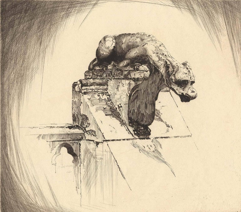 Through Wind and Weather (Gargoyle at Notre Dame)