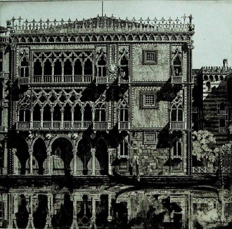 Venetian Filigree ( Cà D'Oro Venezia) - Print by John Taylor Arms