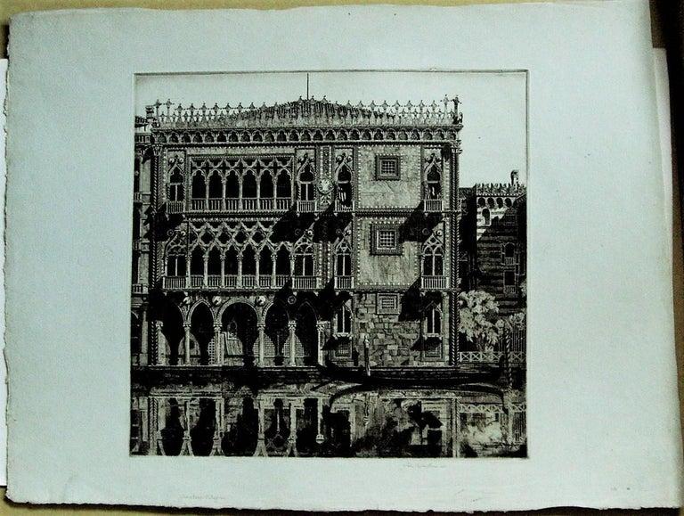 Venetian Filigree ( Cà D'Oro Venezia) - American Modern Print by John Taylor Arms