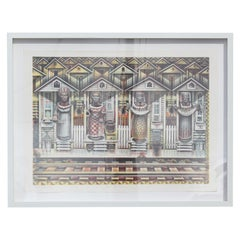 """""""Four Seasons"""" Abstract Architectural Edition 4/6 (Artist's Proof)"""