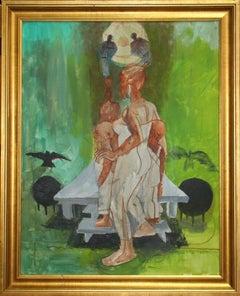 Return II, Painting by John Biggers